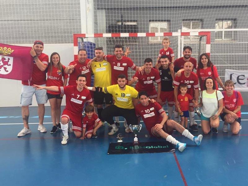 VILKEN MAÑANES-MELON C, Campeón de La Liga Asolefusa León